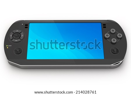 Game console - stock photo