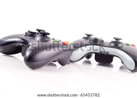 Game Controls - stock photo