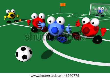 GAME DAY SERIES: Pursuit - stock photo