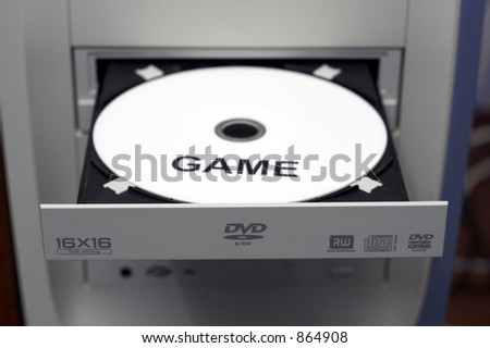 Game DVD in DVD Burner