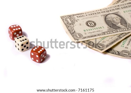 game of chance - stock photo