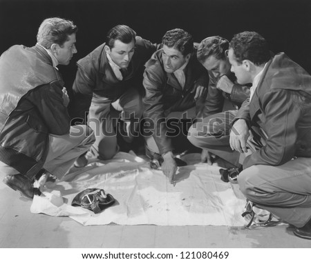 Game plan - stock photo