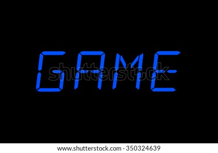 Game symbol - Display
