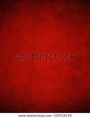 Game Table Felt Background In Red Color.