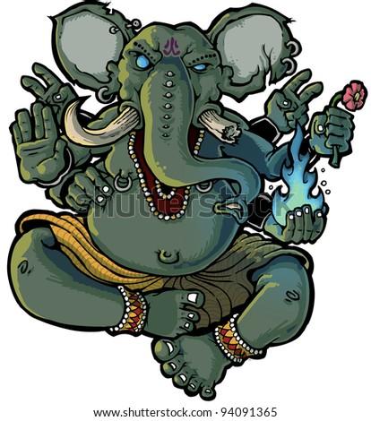 Ganesh - stock photo