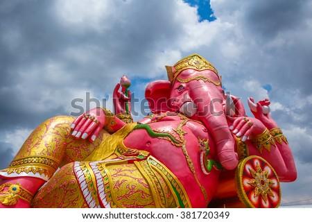 Ganesha in Thailand - stock photo