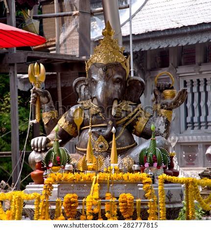 Ganesha statue - stock photo