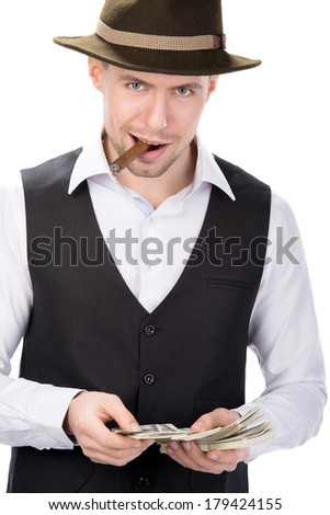 Gangster - stock photo