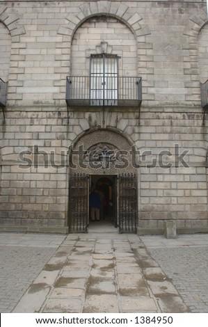 Gaol, Dublin, Ireland - stock photo
