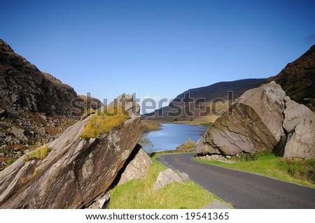 Gap of Dunloe ,National Park, Ireland, - stock photo