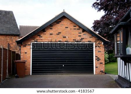 Garage - stock photo