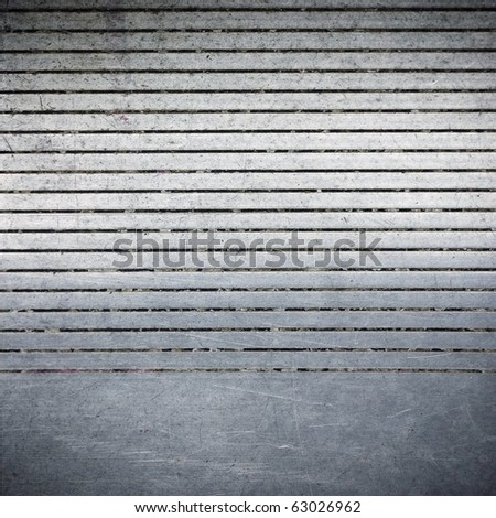 Garage Door Stripped Texture Metal Background Stock Photo Safe to