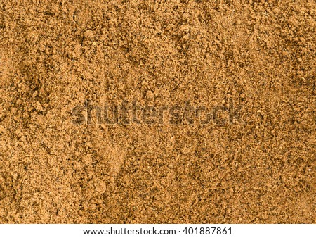 Garam Masala background texture. Indian spice mix - stock photo