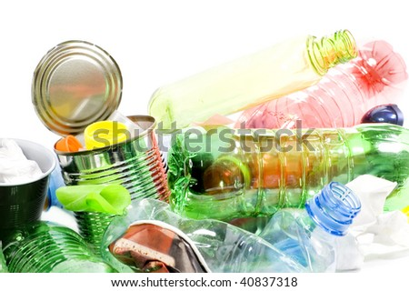 Garbage - stock photo