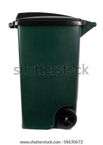 Garbage bin - stock photo