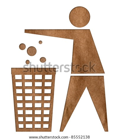 Garbage Recycle - stock photo
