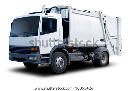Garbage Truck - stock photo