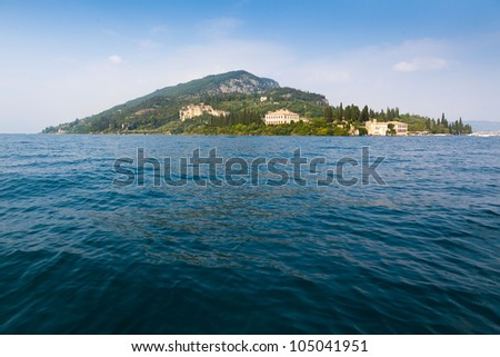 Garda Lake Italy north Lombardy