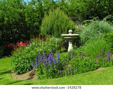 Garden (2) - stock photo
