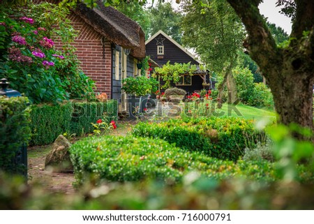 Road Beautiful Garden Stock Photo 131937623 Shutterstock