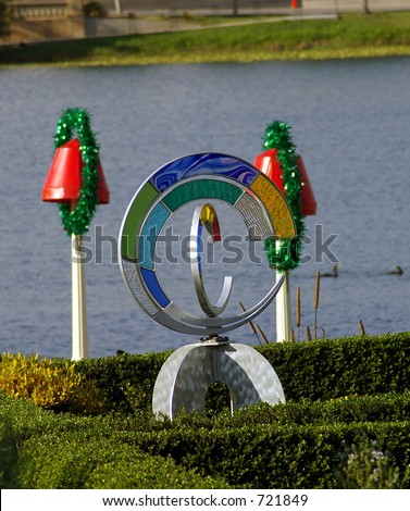 Garden Ornament - stock photo