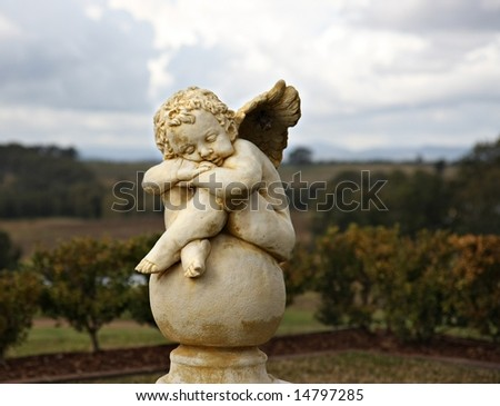 Garden Sculpture - stock photo