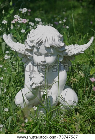 Garden Angel Stock Photos Royalty Free Images Vectors