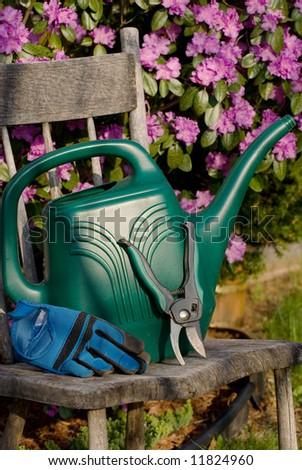 Gardening Tools. - stock photo