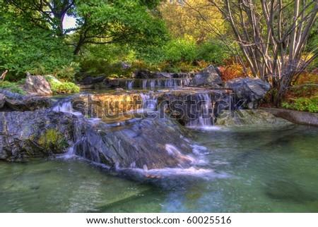 Gardens - stock photo
