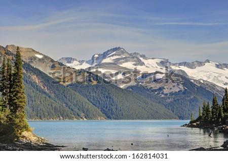 Garibaldi Lake, British Columbia, Canada - stock photo
