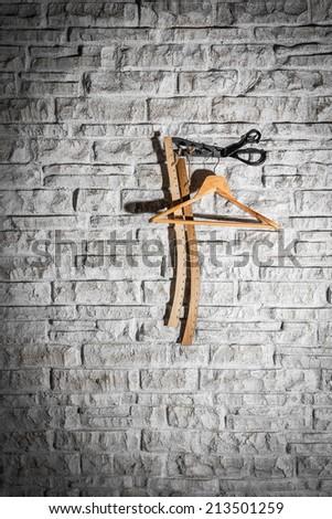 Garment accessories crafts - stock photo