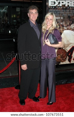 Gary Fleder with wife  at the Los Angeles premiere of 'The Express'. Grauman's Chinese Theatre, Hollywood, CA. 09-25-08