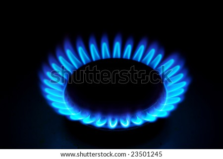 gas - stock photo
