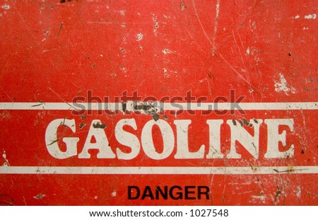 Gas can - stock photo