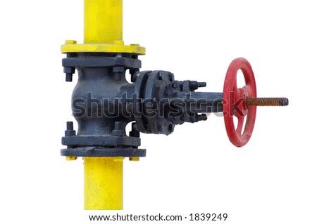 Gas check valve - stock photo