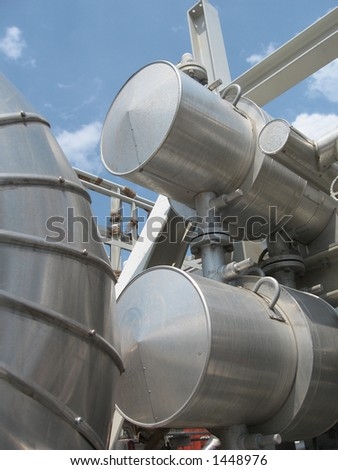 Gas industry equipment