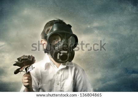 Gas Mask Boy