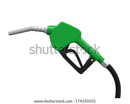 Gas Pump Nozzle - stock photo