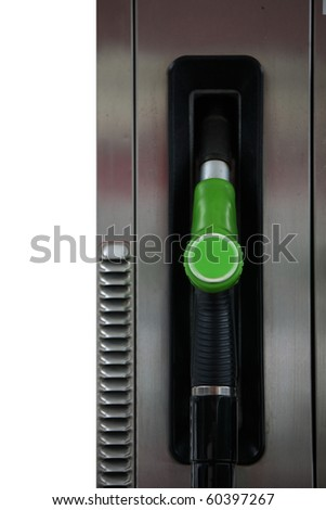 gas station - stock photo