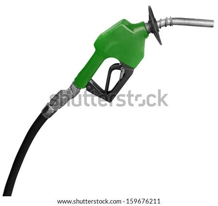 Gas Station Pump Nozzle - stock photo