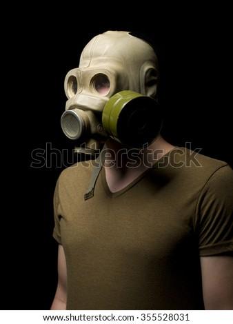 Gasoline Mask - stock photo