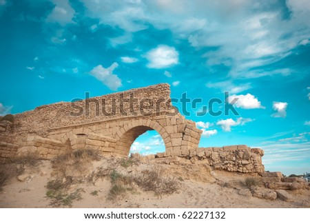 gate to haven - stock photo
