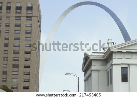 Gateway Arch, St.Louis - stock photo