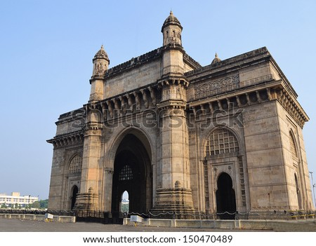 Gateway of India, Mumbai - stock photo