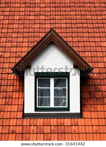 Gaube Spross roof with windows in a tile-covered roof