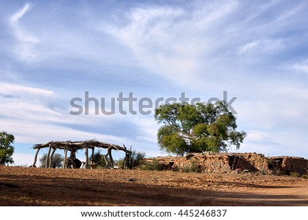 stock-photo-gaucho-farm-near-ischigualas