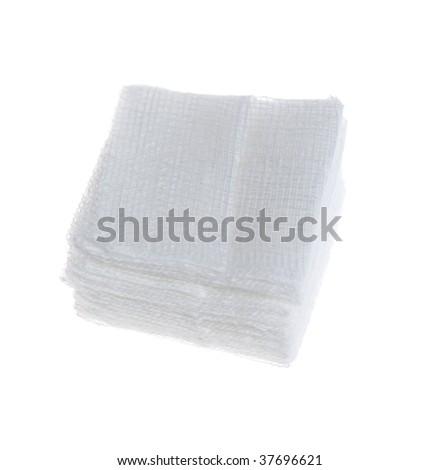 Gauze Fold - stock photo