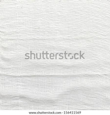 Gauze / thread texture - stock photo
