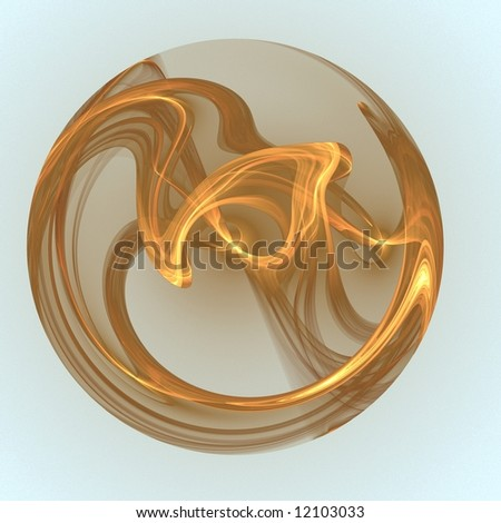 gauzy abstract background