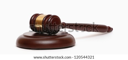 Gavel (auctioneer) - stock photo